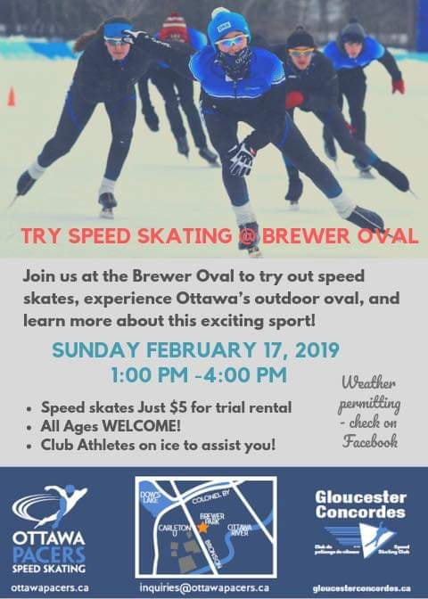 Try Speed Skating Brewer 2019